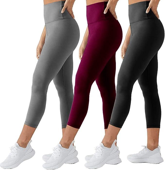 Amazon.com: TNNZEET - Mallas elásticas de cintura alta para ...