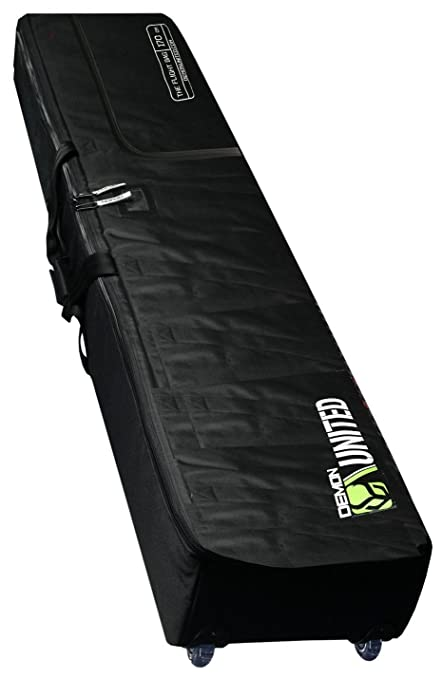 Review Demon Phantom Fully Padded Travel Snowboard Bag with Wheels