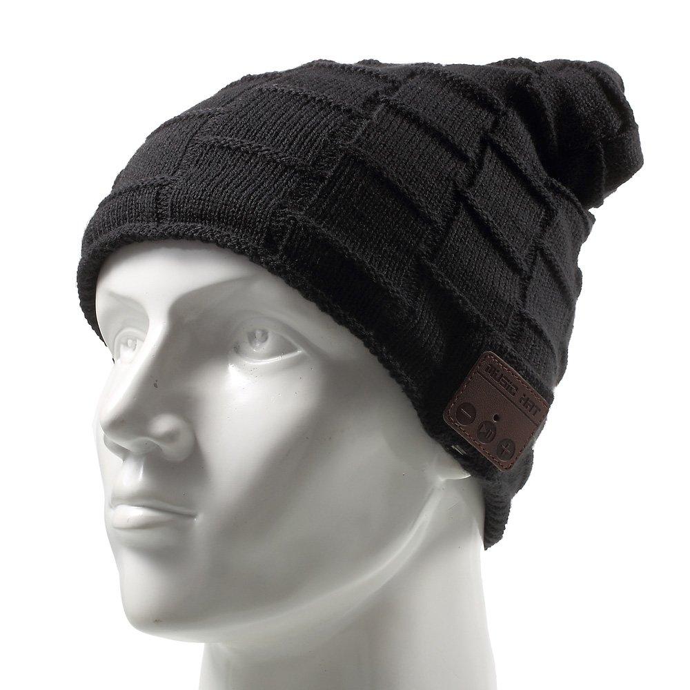 Auriculares MUIFA Inalambrico Headset Music Hat Knit Winter Warm Beaniecon Microfono Incorporadorofono para Hands-Free C