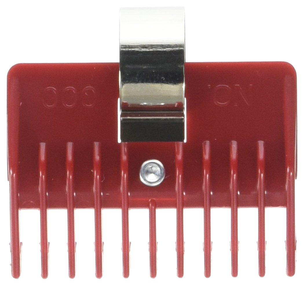 Universal Clipper Red Comb Attachment 1/32 No #000 Speed O Guide Barber Salon