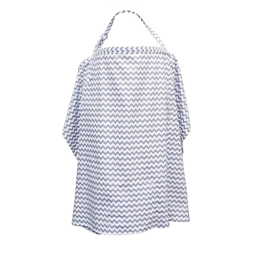 DORSION 100% Natural Soft Cotton, Seamless, Breathable Breast Feeding Nursing Cover 3358
