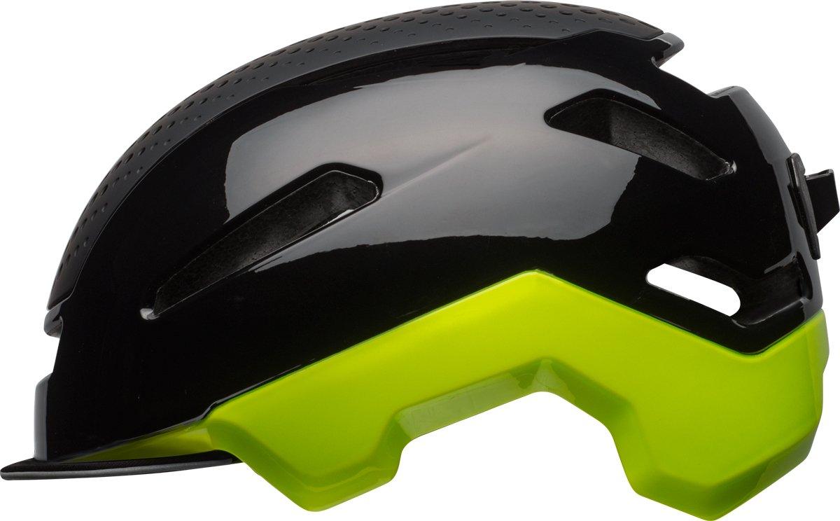 BELL Hub City Fahrrad Helm schwarz gelb 2017