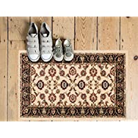 Well Woven Barclay Sarouk Ivory Traditional Area Rug 23 X 311