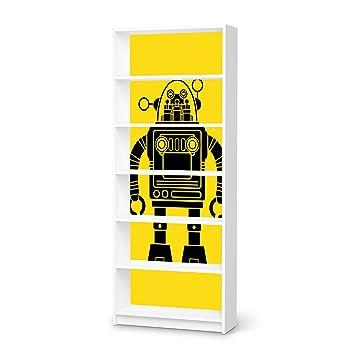 Möbeltattoo Kinderzimmer Dekoration für IKEA Billy Regal 6 Fächer ...