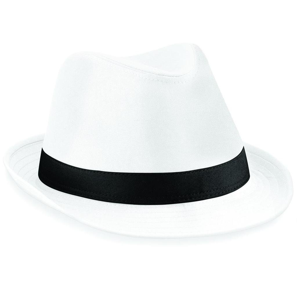 Brand New Beechfield Fashionable Fedora Unisex Hat Available in Two Sizes