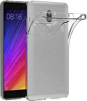 AICEK Funda Xiaomi Mi 5S Plus, Xiaomi Mi 5S Plus Funda Transparente Gel Silicona Xiaomi Mi 5S Plus Premium Carcasa para Xiaomi Mi 5S Plus: Amazon.es: Electrónica