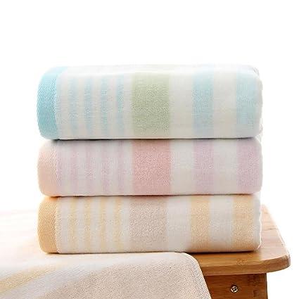 Toallas Set de 3 toallas de algodón puro Hand Bath Sheet 3 colores Hotel Rainbow Colors