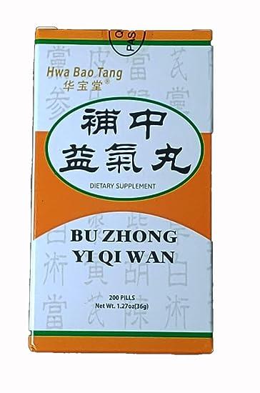 bu zhong yi qi tang dosage