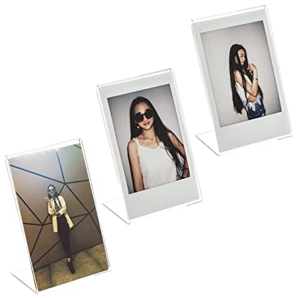 Amazon.com: CAIUL Compatible L Model Clear Acrylic Photo Frame for ...