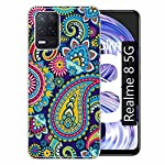 Gismo Designer Printed Soft Silicone Pouch Back Case Mobile Cover for Realme 8 5G / for Boys and Girls – B37