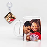 GiftsOnn Beautiful Personalized Mug Customized with Photo Mug Valentine Day,Birthday,Anniversary, mothers's Day, Father's Day,Raakhi