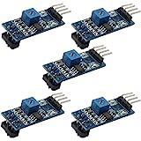 C.J. SHOP 5PCS TCRT5000 Infrared Reflective Sensor Module IR Barrier Line Track Photoelectric Switch