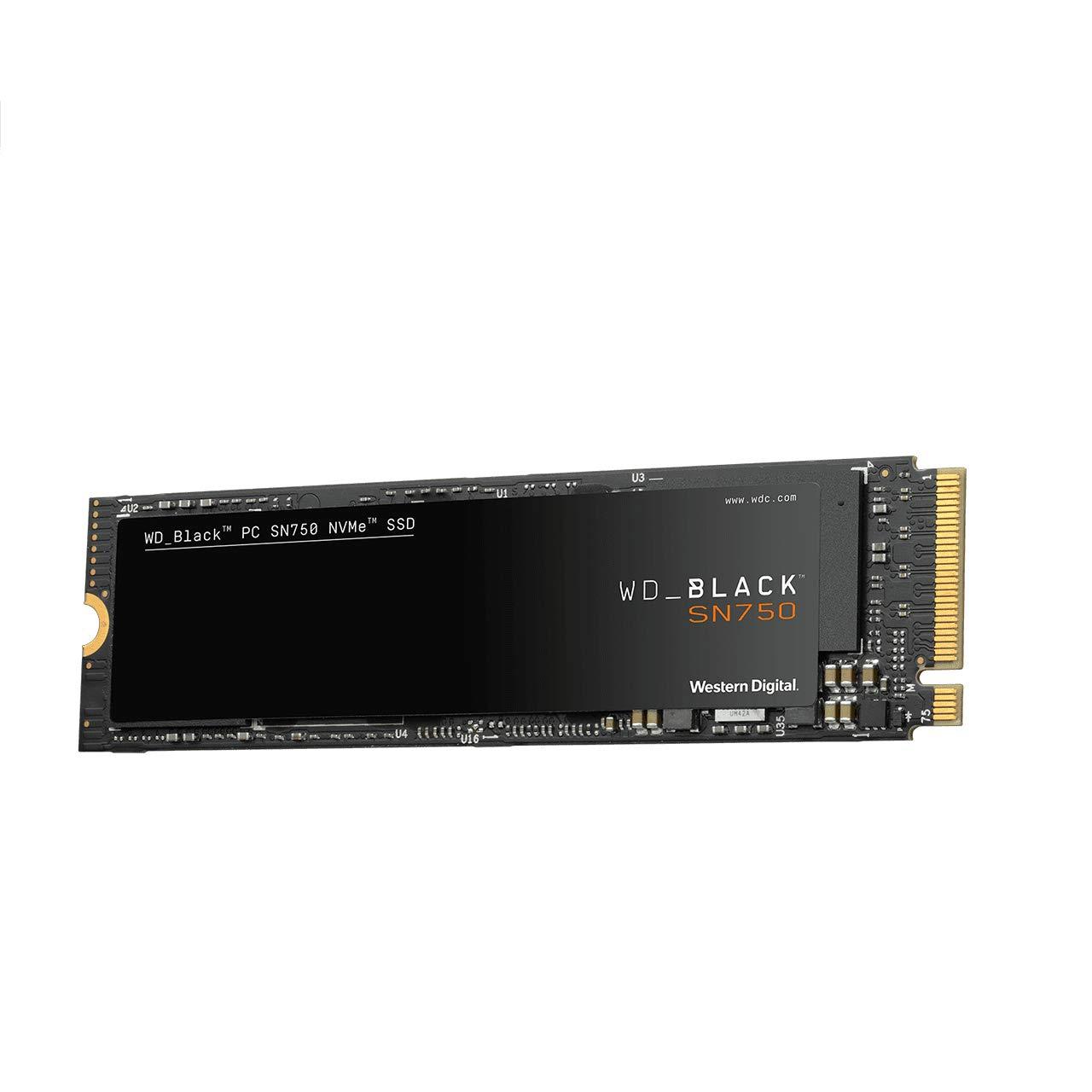 SanDisk WD black SN750 NVMe SSD 1TB - Disco de estado sólido, NVMe ...