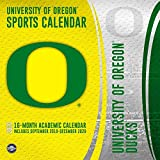 Oregon Ducks: 2020 12x12 Team Wall Calendar