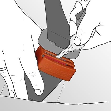 BeltLock - Arrête enfants Ouverture de la ceinture de sécurité fixer le  siÚge auto dans une voiture  Amazon.fr  Bébés   Puériculture 85ae2929374