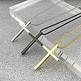 Cross Necklace for Men Cross Pendant STRENGTH Bible