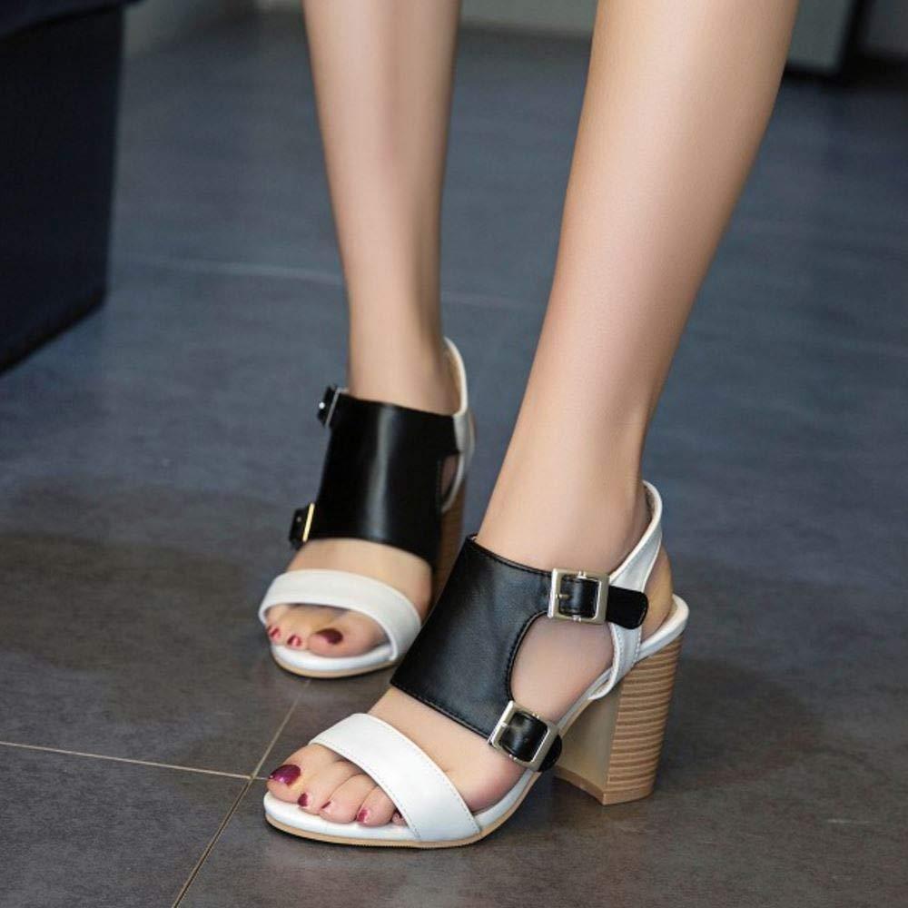 Lydee Femmes Classic Monk Strap des Sandales Open Toe Gladiator