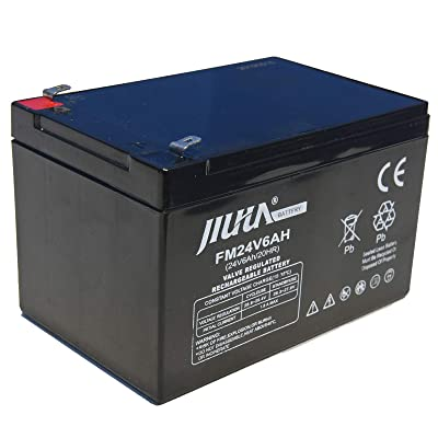 JIUTA 24V 6Ah Rechargeable Lead Acid Battery for Sea Scooter Diving Equipment Underwater Propeller Diving Equipment: Home Audio & Theater