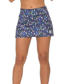 a40grados Sport & Style Fantasia Optic Falda, Mujer, (Estampado), 36/