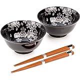 Ensemble de Ginsai Sakura Bols Japonais