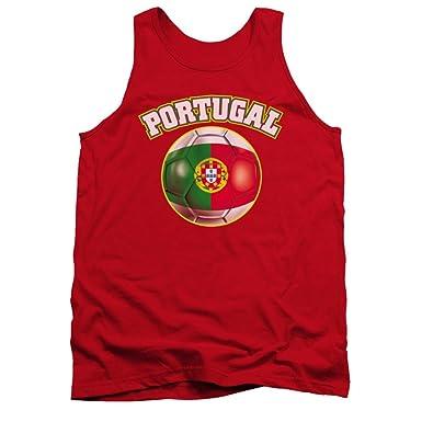 Portugal orgullo bandera de balón de fútbol adultos camiseta de ...