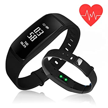 bluetooth waterproof rate bracelet pressure watch sport blood oled p smart health aadf heart oximeter monitor