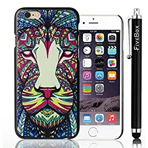 FiveBox New Arrival 2014 Hard Case Back Cover Shell for iphone 6 plus (5.5 Inchs) - Lion