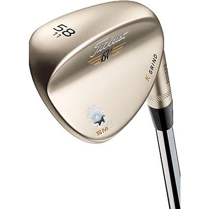 Titleist Sm5 Gold Nickel - Wedge para diestro (60 ° bounce ...