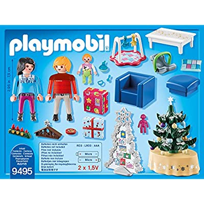 Playmobil #9495 Christmas Living Room - New Factory Sealed: Toys & Games