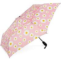 ShedRain WindPro Vented Auto Open Auto Close Compact Wind Umbrella: Daisy Bell Floral