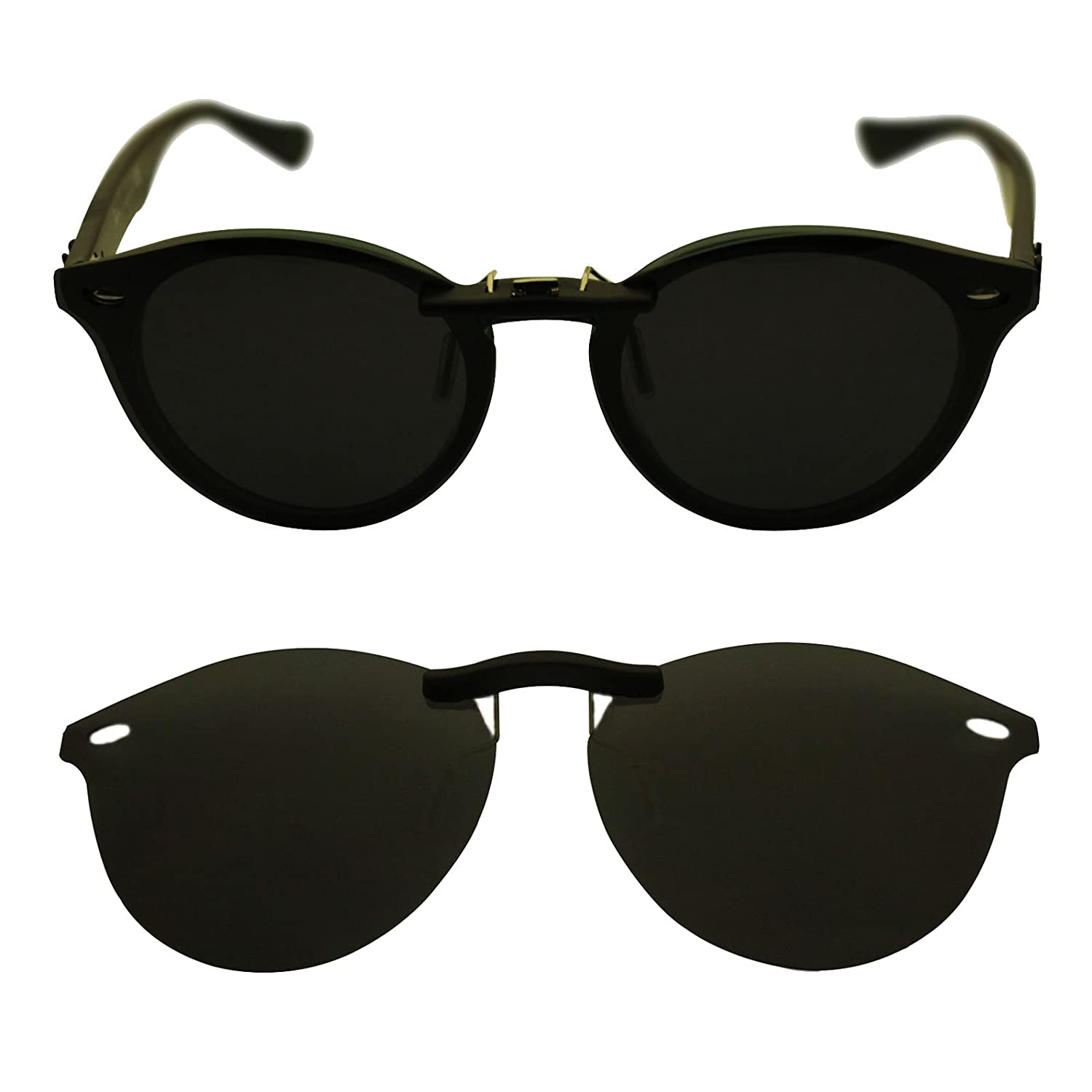 4e776a621fc Ray Ban Clubmaster 3016 51 X 21 Clip On Sunglasses kuvat - Kritische ...