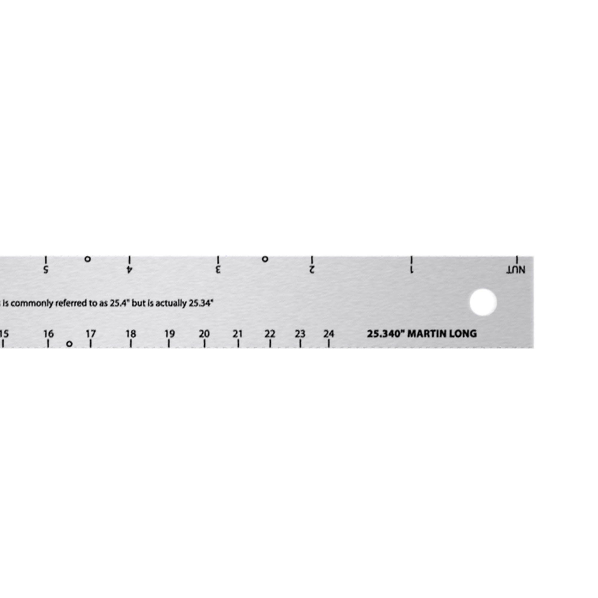 StewMac Fret Scale Rule Gibson guitar rule
