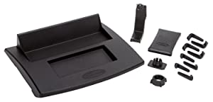 Daystar, Jeep JK Wrangler Upper Dash Panel with holder Large I Phone and I Phone Plus; Mini Pad; Cradle; Black, fits 2007 to 2010 2/4WD, KJ71059BK, Made in America