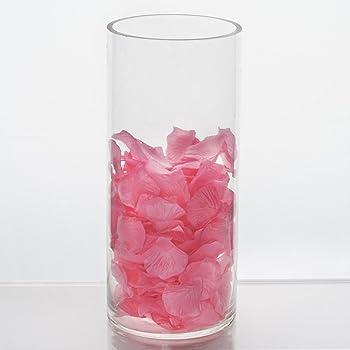 Amazon Balsacircle 6 Pcs 12 Tall Clear Glass Cylinder Vases