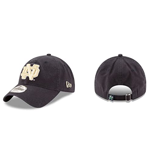 0346741724b New Era Notre Dame Fighting Irish Blue 9Twenty Core Classic Adult Hat