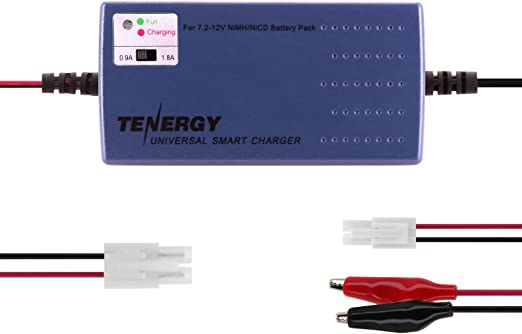 Amazon.com: Tenergy Cargador universal inteligente para ...
