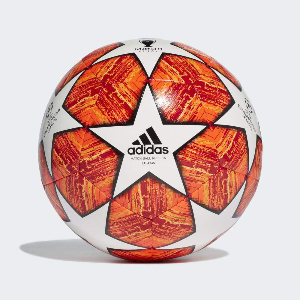 adidas Finale M SAL5X5 Soccer Ball, Hombre, White/Active Scarlet ...