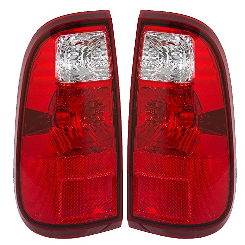 Taillights Tail Lamps Driver and Passenger Replacements for 08-16 Ford Super Duty Pickup Truck BC3Z13405A BC3Z13404A