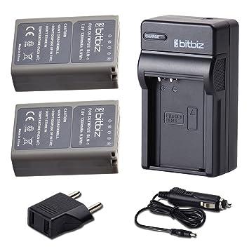 Bitbiz bit-18 - Batería y cargador para cámara BLN-1 BLN1 ...