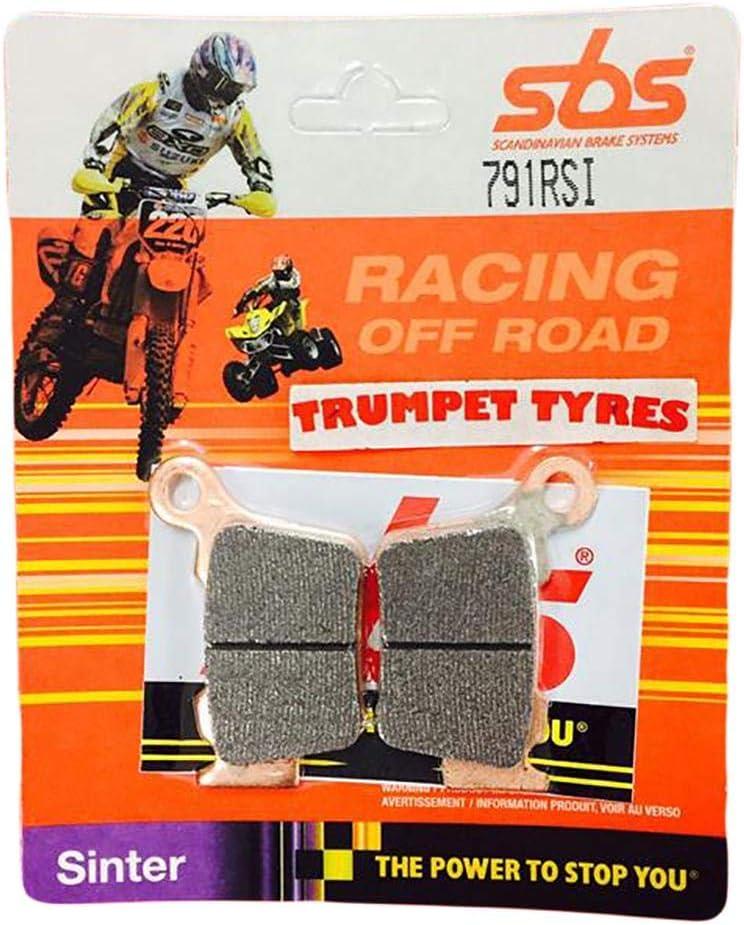 RS500R 15 16 17 18 19 SBS Performance Rear Off Road Racing Sintered Sinter Brake Pads Set Genuine OE Quality 791RSI SWM RS 500 R