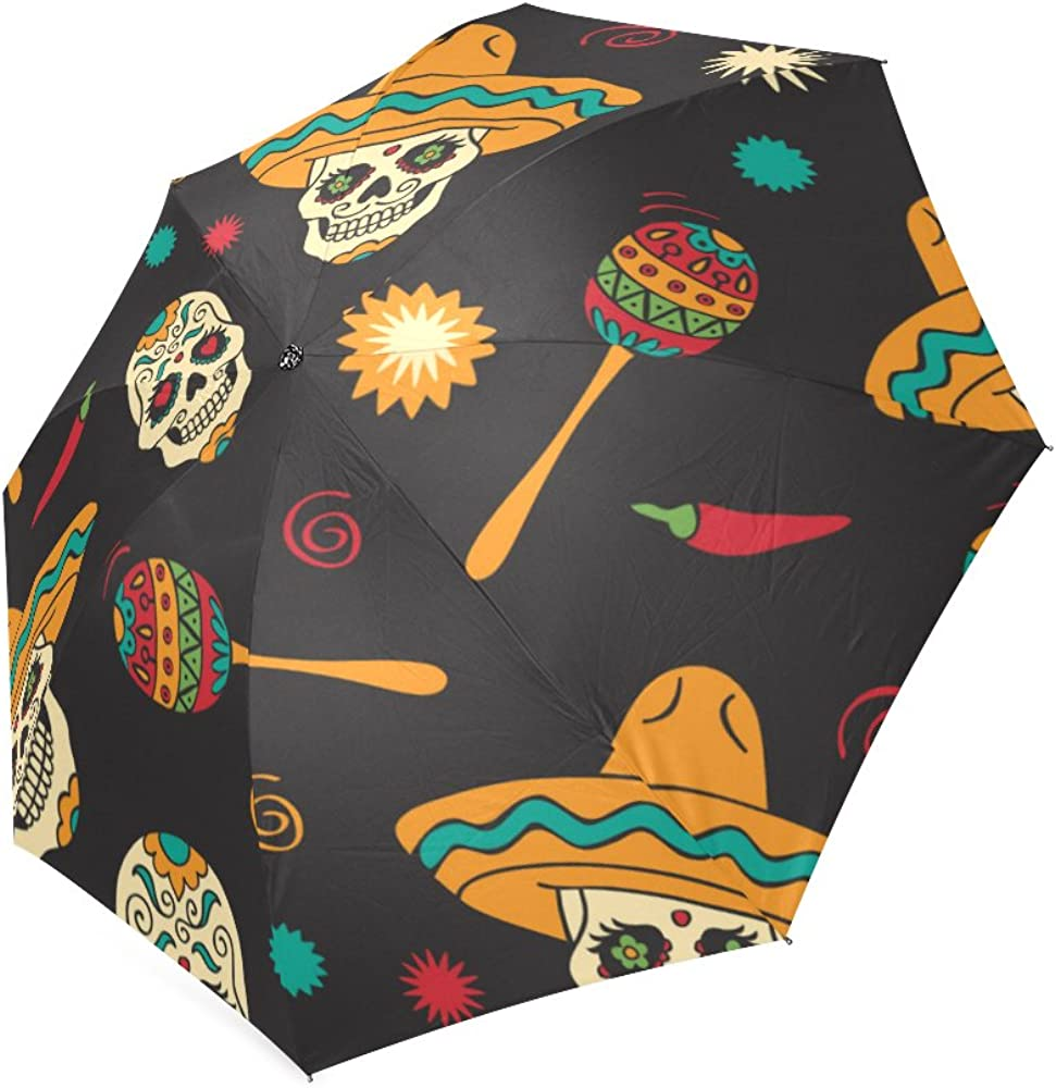 Folding Umbrella Rainproof /& Windproof Umbrella Clown Custom Umbrella