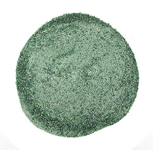 1/2 Ounce Crushed Stone Natural No Dye Natural Dark Green Jasper Inlay Powder 2mm And (Jasper Inlay)