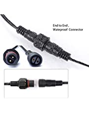 3m Waterproof Extension Cable for G40 Clear Outdoor Garden Globe String Lights(Please Check The Connector Before You Place Order)