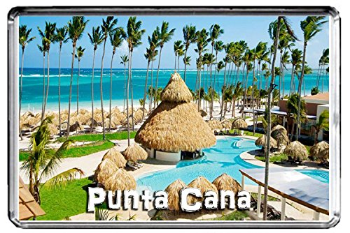 GIFTSCITY E021 PUNTA CANA FRIDGE MAGNET DOMINICAN REPUBLIC TRAVEL PHOTO REFRIGERATOR MAGNET ()