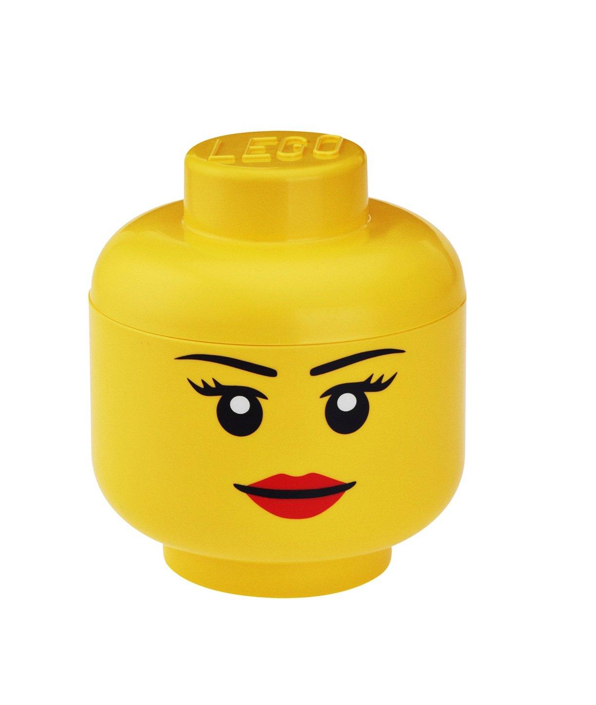 LEGO Lizenzkollektion 4031 - Aufbewahrungskopf, S, klein, Junge LEGO® Lizenzkollektion 40311732_giallo Sonstiges Spielzeug
