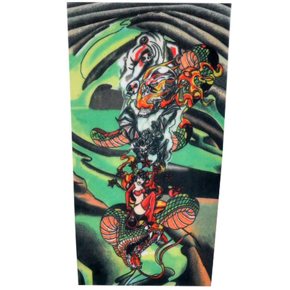 Meijunter 2Pcs Kinder Ärmel Manschette Spezielle Karikatur Sonnenschutz Tattoo Arm Sets Stil 1