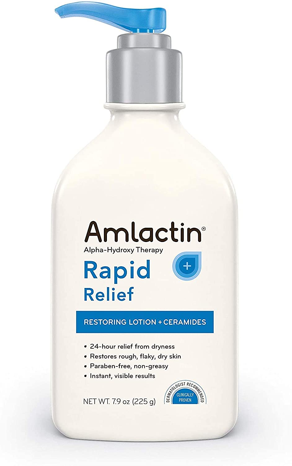 Amlactin Alpha Hydroxy Therapy Rapid Relief Restoring Lotion + Ceramides