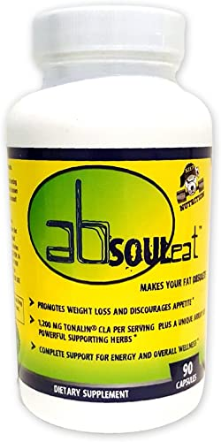 Absouleat-Weight Loss Supplement 90 Capsules Absouleat Makes Your Fat Obsolete