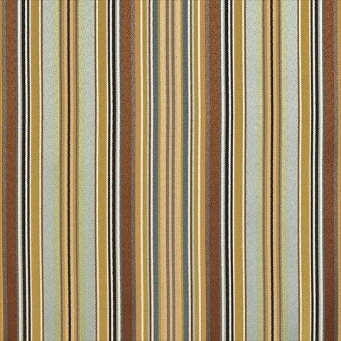 Designer Fabrics U0160D 54 in. Wide Teal, Green And Brown Shiny Thin Striped Silk Satin Upholstery Fabric   B00Q1UIWZI