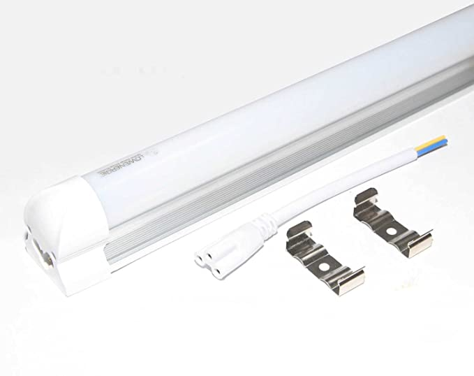 Lowenergie 1500mm 5ft Integrated Led Light 6000k Day White Frosted Cover Energy Saving